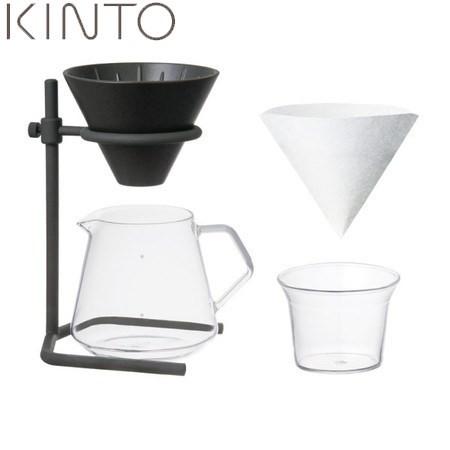 【送料無料&ポイント10倍】KINTO SLOW COFFEE STYLE ブリューワースタンドセット 4cups 27573 キントー スローコーヒースタイル