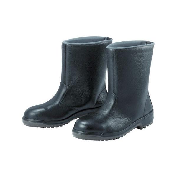 【全品P5倍~10倍】安全半長靴 25.0cm ミドリ安全 MZ040J25.0-7186