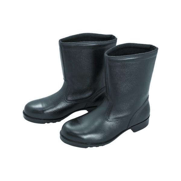 【全品P5倍~10倍】ゴム底安全靴 半長靴 V2400N 28.5CM ミドリ安全 V2400N28.5-7186