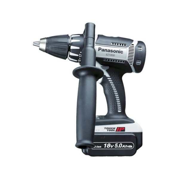 充電ドリルドライバー 18V 5.0Ah Panasonic EZ7450LJ2SH-5018