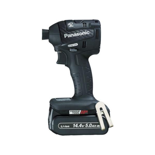 期間限定特別価格 充電インパクトドライバー 5.0Ah PLOTS 14.4V Panasonic 黒 EZ75A7LJ2FB-5018:neut-DIY・工具
