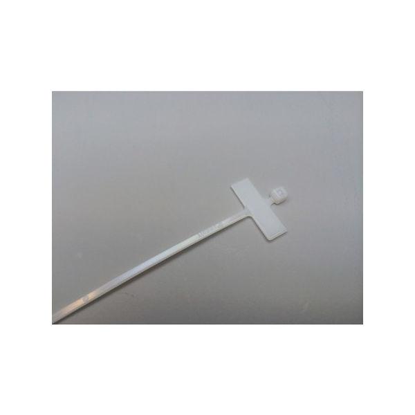 【全品P5倍~10倍】パンドウイット 旗型タイプナイロン結束バンド ナチュラル (1000本入) PLM1M-M
