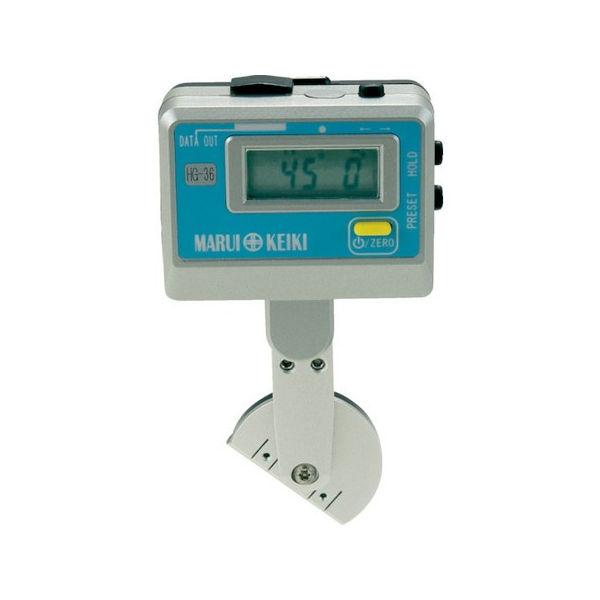 トップ PLOTS 丸井 ハイトゲージベベル デジタル角度計 HG36-7191:neut-DIY・工具