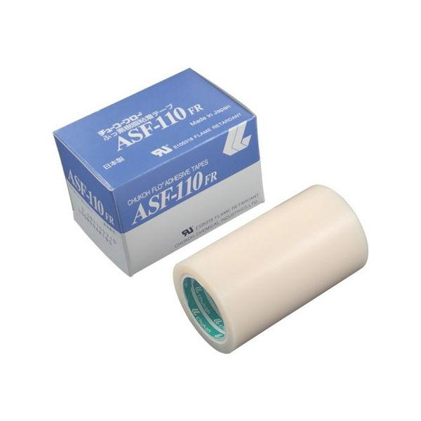 【全品P5倍~10倍】粘着テープ 0.08-100×10 チューコーフロー ASF110FR08X100-4296