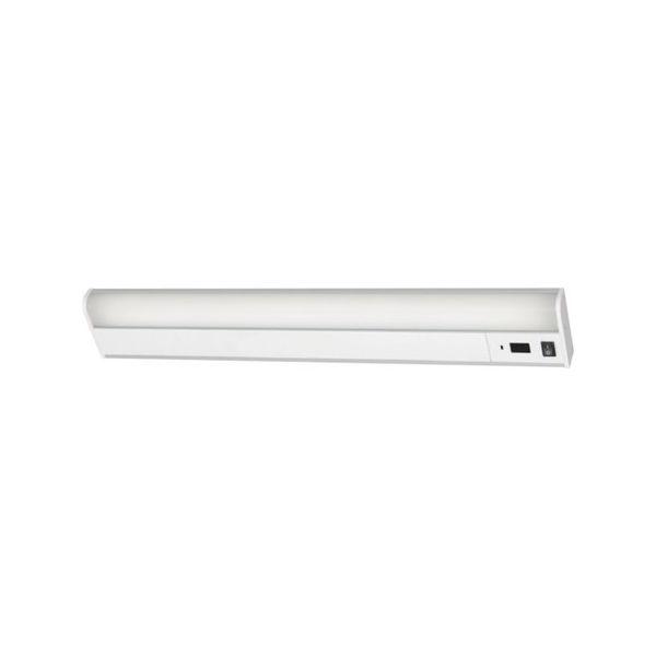 【全品P5倍~10倍】LEDキッチン手元灯 棚下・壁兼用 タッチレススイッチ 800lm IRIS KTM8NTKS-1256