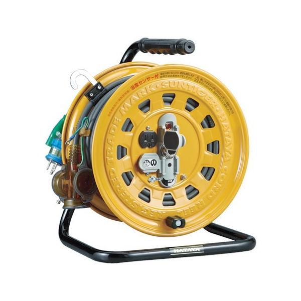 最安値で  逆配電型コードリール マルチテモートリール単相100Vアース付47+6m TGM150K-6012:neut PLOTS ハタヤ-DIY・工具