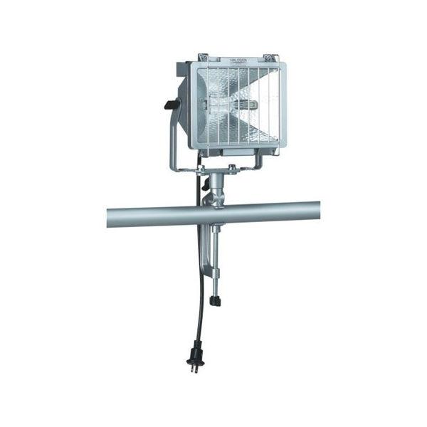【全品P5倍~10倍】防雨型ハロゲンライト 500W 100V電線5m バイス付 ハタヤ PH505N-6012