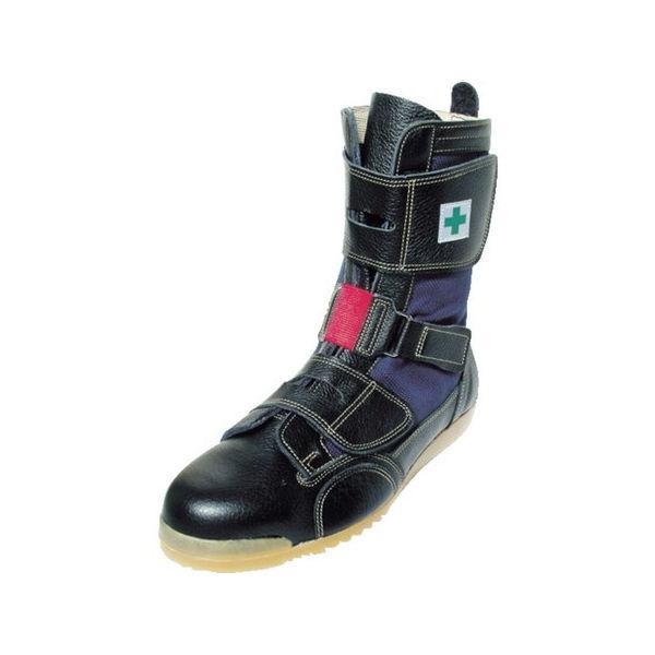 【全品P5倍~10倍】高所用安全靴 安芸たび 27.0CM ノサックス AT20727.0-5101