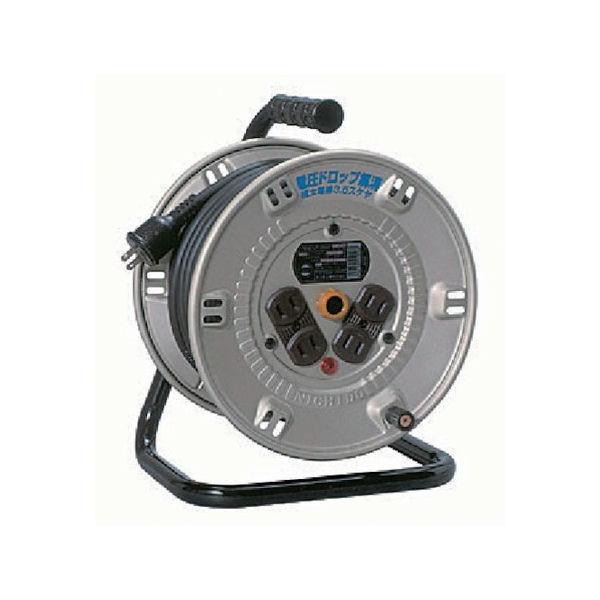 【全品P5倍~10倍】日動 電工ドラム スタミナリール100V 2芯 20m NP-204F