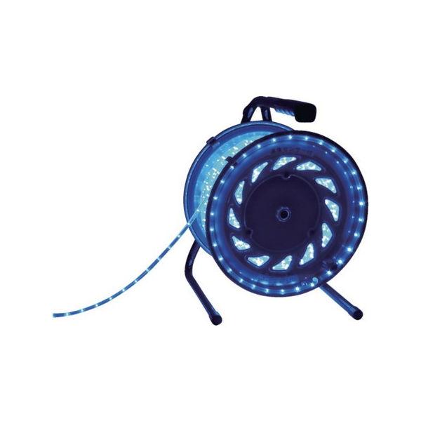 【期間限定!最安値挑戦】 PLOTS 日動 RLL50SB-5026:neut LEDラインチューブドラム青-DIY・工具