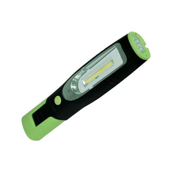 【全品P5倍~10倍】日動 充電式LEDハンディーライト 1.5W+3W LEH1P1PCH