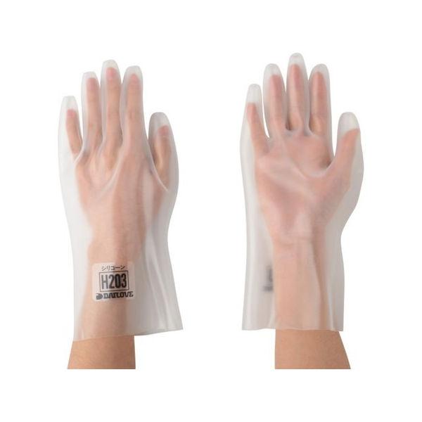 【全品P5倍~10倍】DAILOVE 耐溶剤用手袋 ダイローブH203(LL) DH203LL