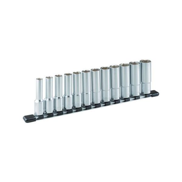 ディープソケットセット(6角・ホルダー付) 12pcs TONE HSL412-8100