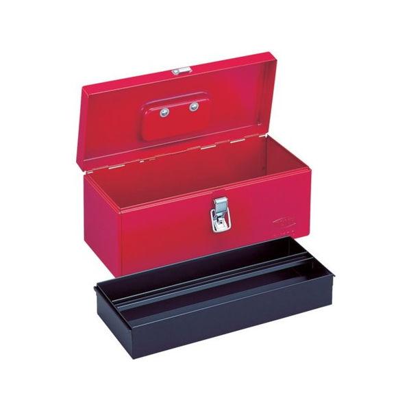 ツールケース(メタル) 平形中皿付 410X175X170mm TONE BX120-8100