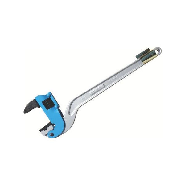 ブルー アルミコーナーパイプレンチ 白管、被覆管 兼用 300mm HIT ACPW300J-6252