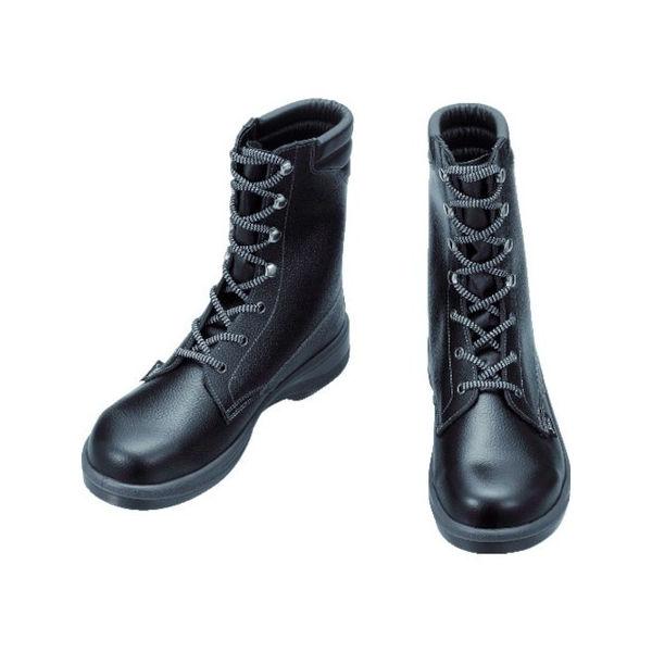 安全靴 長編上靴 7533黒 27.5cm シモン 7533N27.5-3043