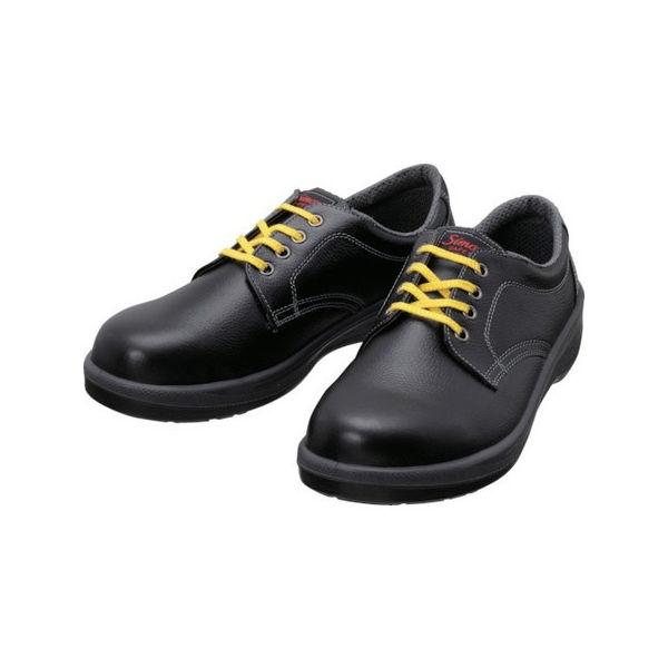 静電安全靴 短靴 7511黒静電靴 25.5cm シモン 7511BKS25.5-3043