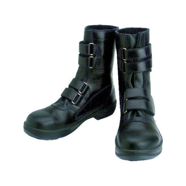 安全靴 マジック式 8538黒 24.0cm シモン 8538N24.0-3043