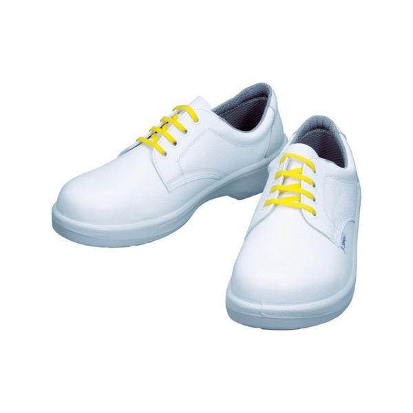 【全品P5倍~10倍】静電安全靴 短靴 7511白静電靴 23.5cm シモン 7511WS23.5-3043