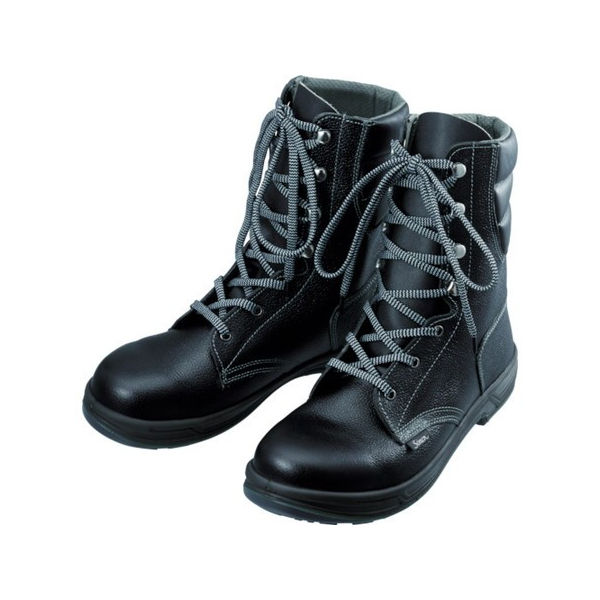 【全品P5倍~10倍】安全靴 長編上靴 SS33黒 24.0cm シモン SS3324.0-3043