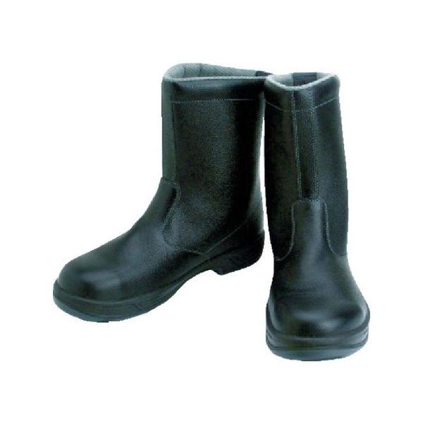 【全品P5倍~10倍】安全靴 半長靴 SS44黒 25.5cm シモン SS4425.5-3043