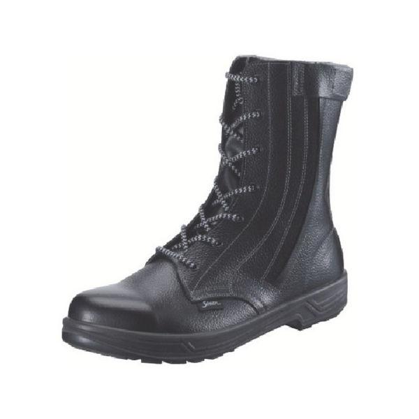 安全靴 長編上靴 SS33C付 24.0cm シモン SS33C24.0-3043