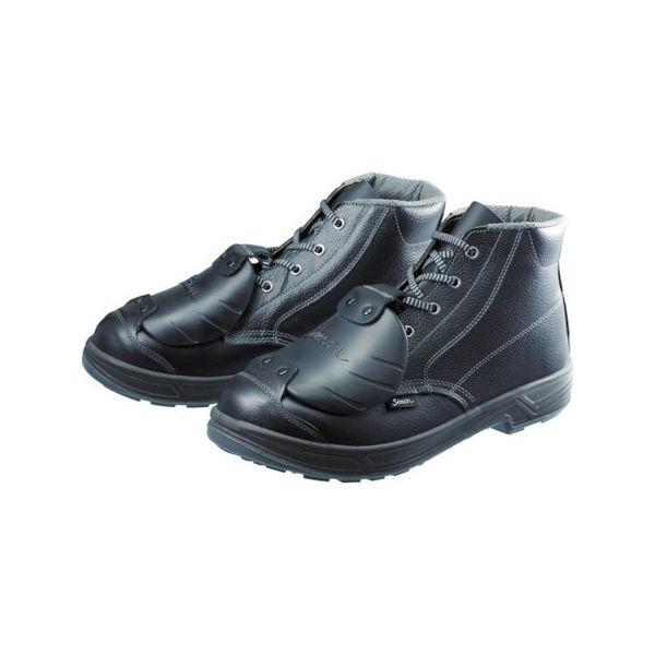【全品P5倍~10倍】安全靴甲プロ付 編上靴 SS22D-6 27.0cm シモン SS22D627.0-3043