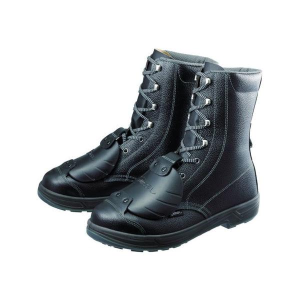 【全品P5倍~10倍】安全靴甲プロ付 長編上靴 SS33D-6 26.5cm シモン SS33D626.5-3043