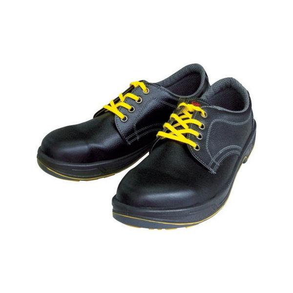 静電安全靴 短靴 SS11黒静電靴 25.5cm シモン SS11BKS25.5-3043