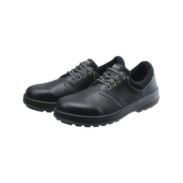 【全品P5倍~10倍】安全靴 短靴 WS11黒 24.5cm シモン WS11B24.5-3043