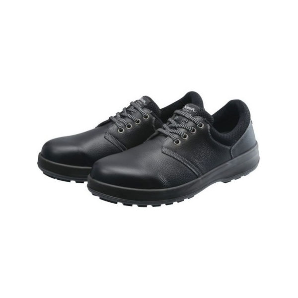【全品P5倍~10倍】安全靴 短靴 WS11黒 27.5cm シモン WS11B27.5-3043