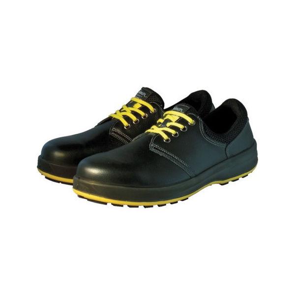 【全品P5倍~10倍】安全靴 短靴 WS11黒静電靴 23.5cm シモン WS11BKS23.5-3043