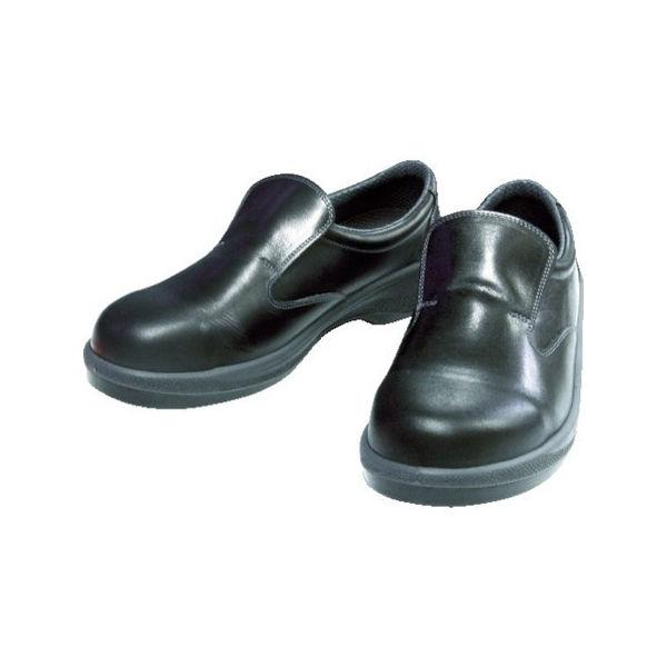 安全靴 短靴 7517黒 25.0cm シモン 751725.0-3043