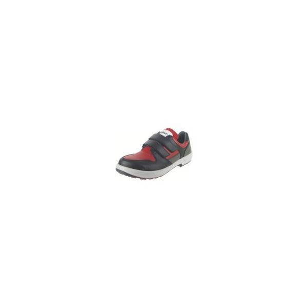 【全品P5倍~10倍】トリセオシリーズ 短靴 赤/黒 26.0cm シモン 8518REDBK26.0-3043