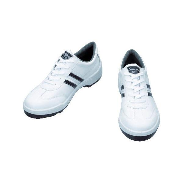 【全品P5倍~10倍】安全靴 短靴 BZ11-W 25.5cm シモン BZ11W25.5-3043