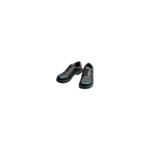 安全靴 短靴 SL11-R黒/赤 26.0cm シモン SL11R26.0-3043