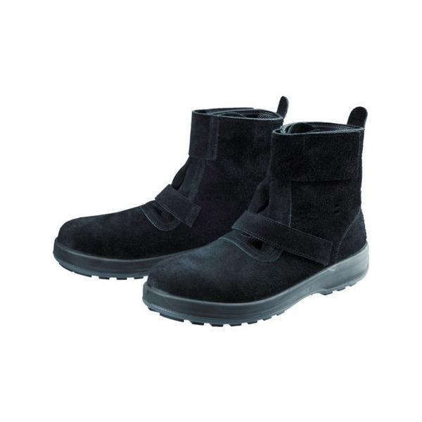 安全靴 WS28黒床 23.5cm シモン WS28BKT23.5-3043