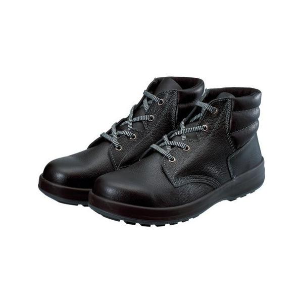 【全品P5倍~10倍】3層底安全編上靴 シモン WS22BK24.5-3043
