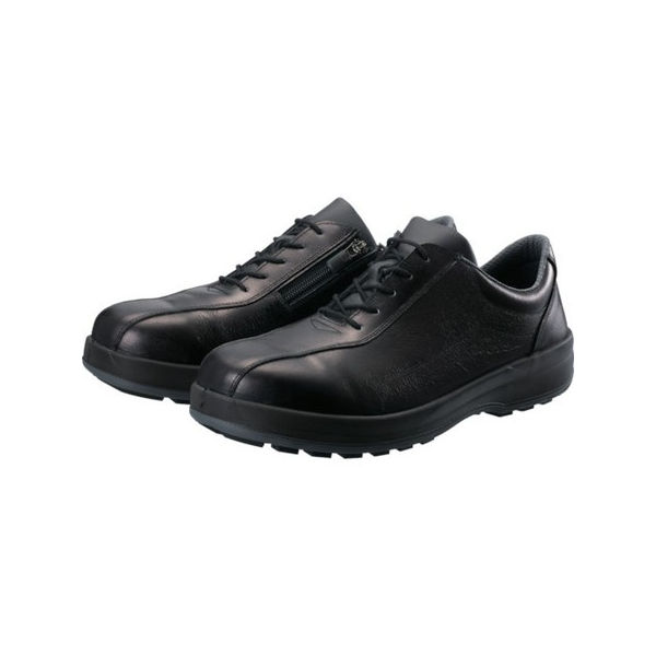 シモン 耐滑・軽量3層底安全短靴8512黒C付 28.0cm 8512C280