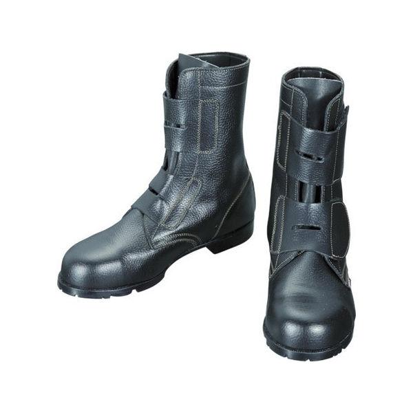 【全品P5倍~10倍】安全靴 マジック式 AS28 26.5cm シモン AS2826.5-3043