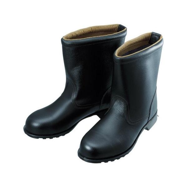 安全靴 半長靴 FD44 24.5cm シモン FD4424.5-3043