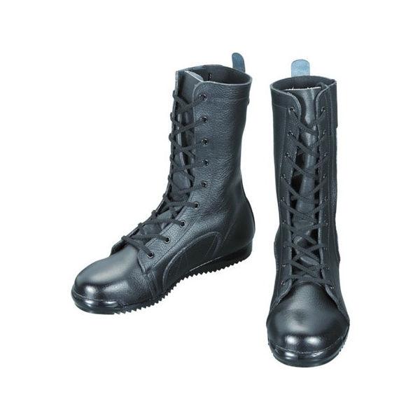 【全品P5倍~10倍】安全靴高所作業用 長編上靴 3033都纏 26.5cm シモン 303326.5-3043