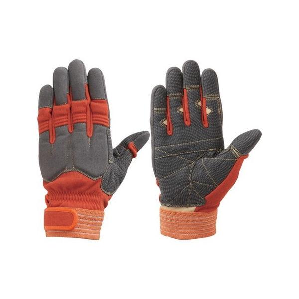【全品P5倍~10倍】シモン 災害活動用保護手袋(アラミド繊維手袋) KG-140オレンジ KG140L