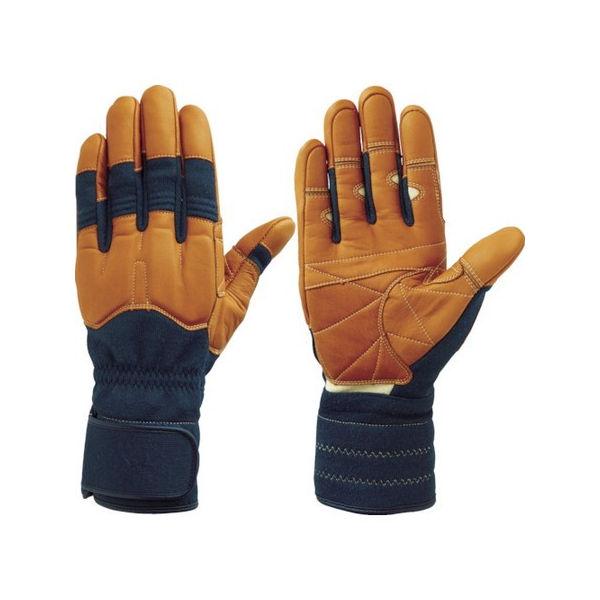 シモン 災害活動用保護手袋(アラミド繊維手袋) KG-150ネービー KG150L