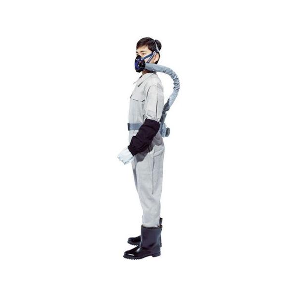 電動ファン付呼吸用保護具 Sy20G2-B1(20680) シゲマツ SY20G2B1-8730