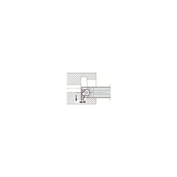 溝入れ用ホルダ 京セラ GIVR20161BE-2039