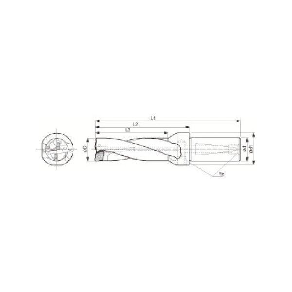 ドリル用ホルダ 京セラ S25DRZ195706-2039