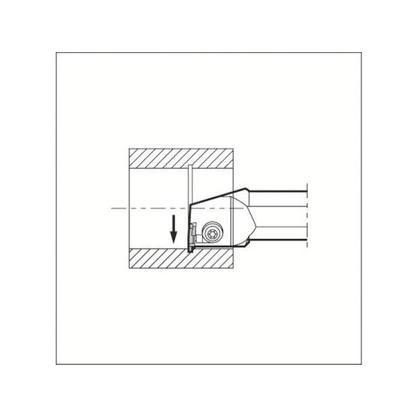 【全品P5倍~10倍】溝入れ用ホルダ 京セラ KIGBAR352516-2039
