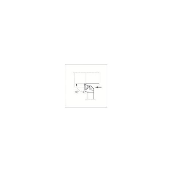 外径加工用ホルダ 京セラ PTGNL1616H16-2039