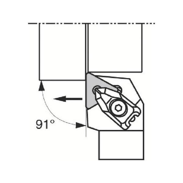 【全品P5倍~10倍】外径加工用ホルダ 京セラ DTGNL2525M16-2039